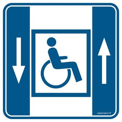 Dźwig dla niepełnosprawnych