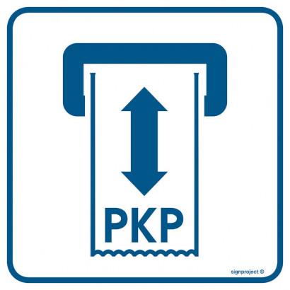 Kasownik biletów PKP