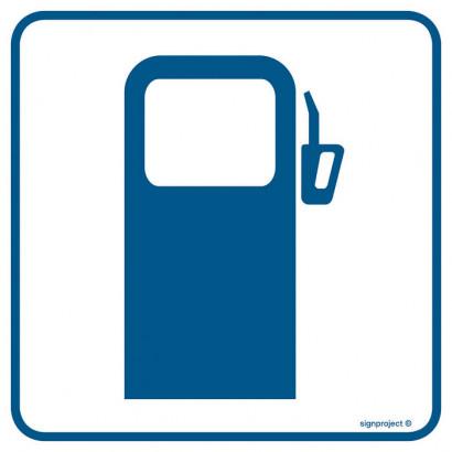Znak - Stacja benzynowa RA061