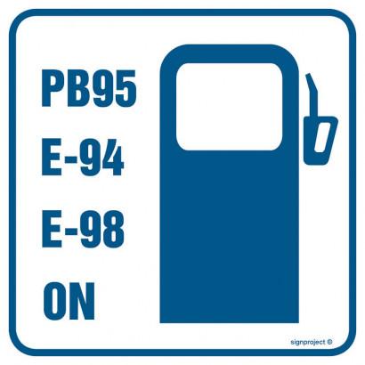 Znak - Stacja benzynowa 2 RA062