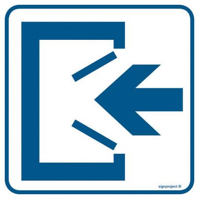 Znak - Wejście RA065