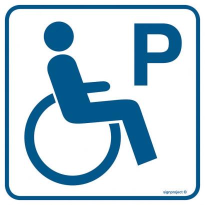 Znak - Parking dla inwalidów RA073