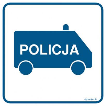 Znak - Policja RA082