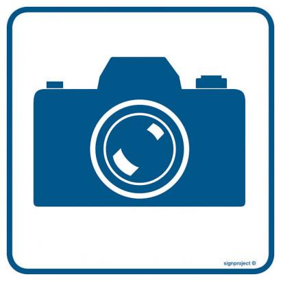 Znak - Tu wolno fotografować RA084