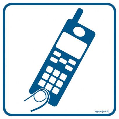 Znak - Telefon komórkowy RA089