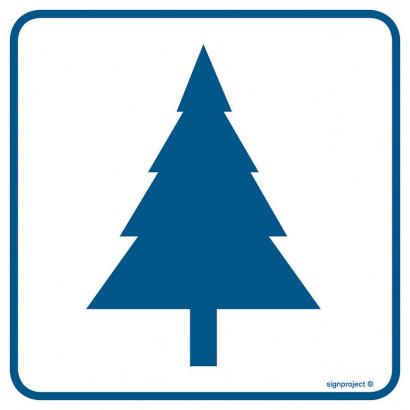 Znak - Drzewa iglaste RA093