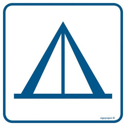 Znak - Pole namiotowe (camping) RA096