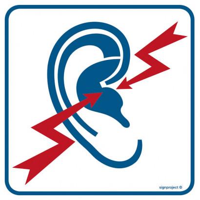 Znak - Strefa wzmożonego hałasu RA109