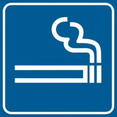 Znak - Tu wolno palić RA113