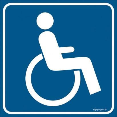 Znak - Droga dla niepełnosprawnych RA114