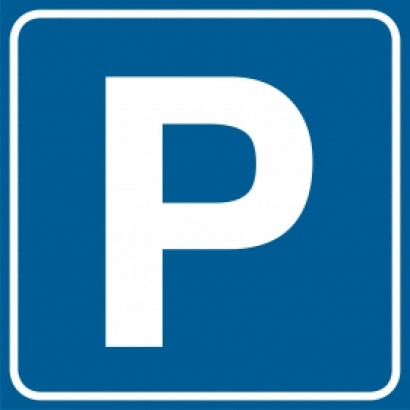 Znak - Parking RA117