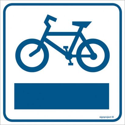 Znak - Ścieżka rowerowa RA121