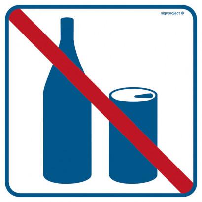 Znak - Zakaz spożywania napojów RA503