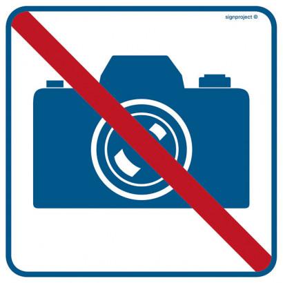 Znak - Zakaz fotografowania RA505