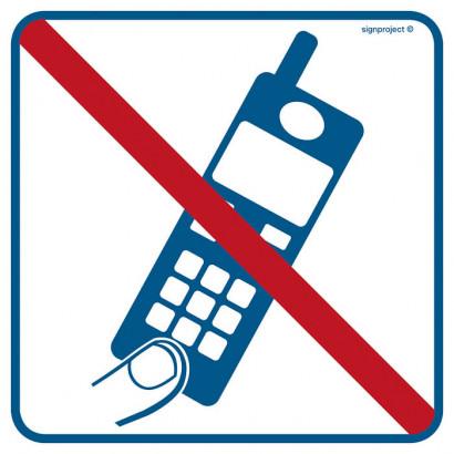 Znak - Zakaz używania telefonów komórkowych RA510