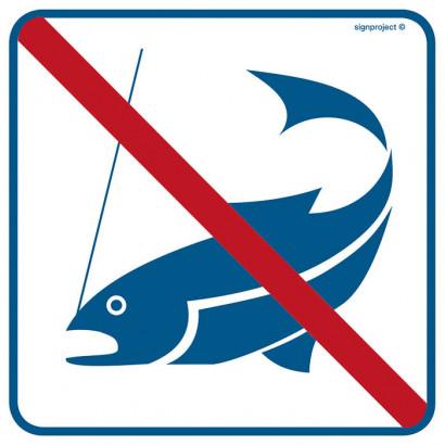 Znak - Zakaz łowienia ryb RA511