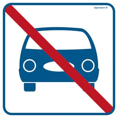 Znak - Zakaz parkowania RA517