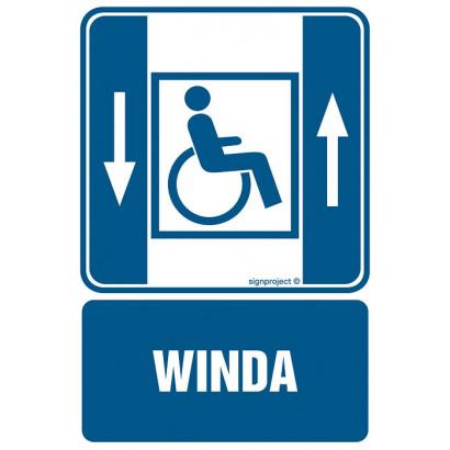 Dźwig osobowy dla niepełnosprawnych