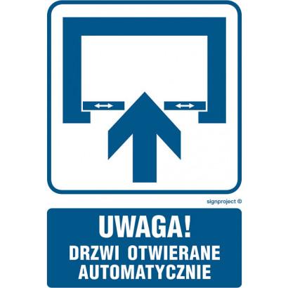 Uwaga! Drzwi otwierane automatycznie