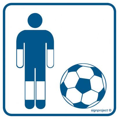 Znak - Boisko piłki nożnej RC003