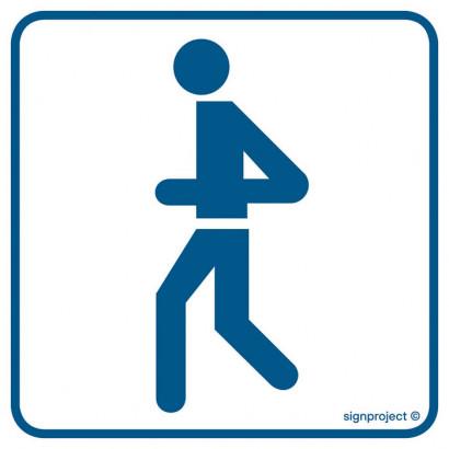 Znak - Ścieżka dla biegaczy RC011