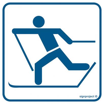Znak - Trasa biegów narciarskich RC013
