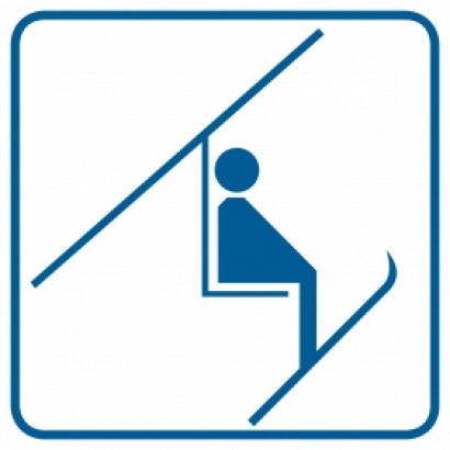 Znak - Wyciąg narciarski RC014