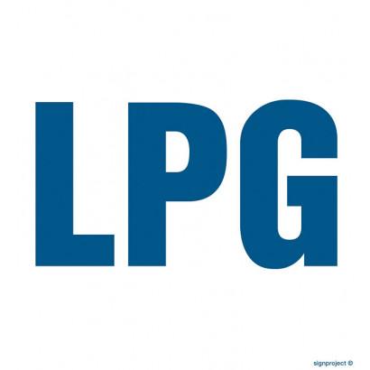 Znak - LPG SB017