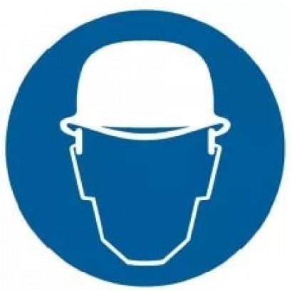 Nakaz stosowania ochrony głowy