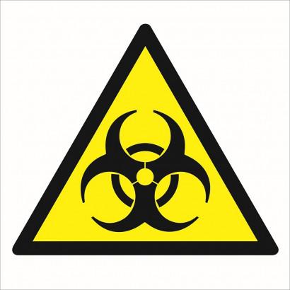 Ostrzeżenie przed skażeniami biologicznymi