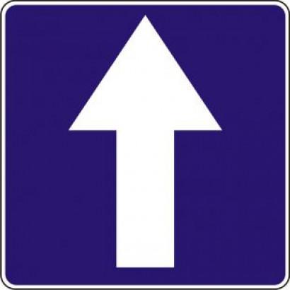 Znak drogowy D-3