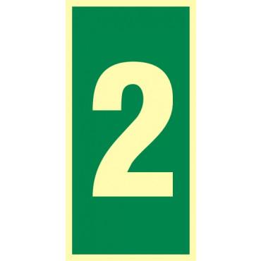 Numer stacji ewakuacyjnych nr 2