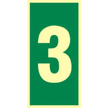 Numer stacji ewakuacyjnych nr 3
