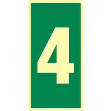 Numer stacji ewakuacyjnych nr 4