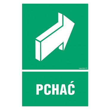 Znak - Pchać AC030