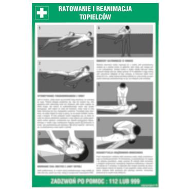 Instrukcja ratowania i reanimowania topielców