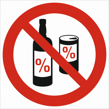 Zakaz picia alkoholu