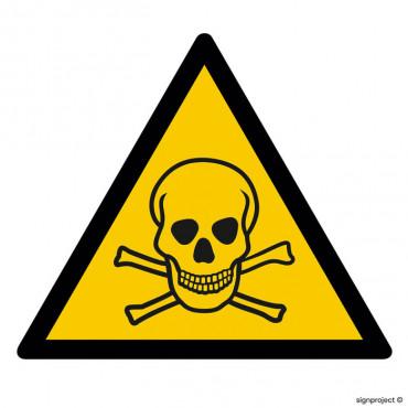 Ostrzeżenie przed silnym polem magnetycznym