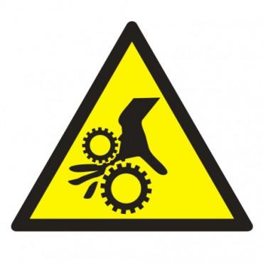 Znak - Uwaga, wirujące elementy GE016