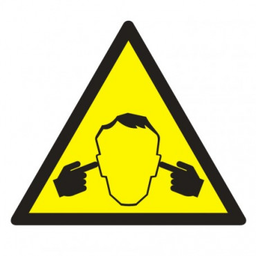 Znak - Uwaga ! Hałas GE014