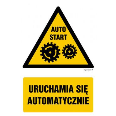 Znak - Uruchamia się automatycznie GF032