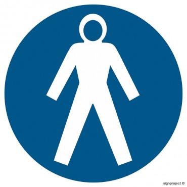 Znak - Nakaz stosowania obuwia specjalnego GK001