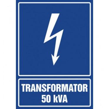 Znak - Transformator 50 kVA HG038