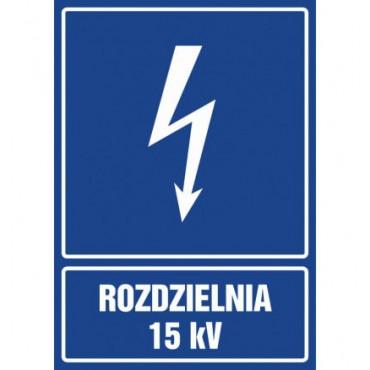 Znak - Rozdzielnia 15 kV HG039