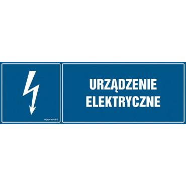 Znak - Urządzenie elektryczne HH016