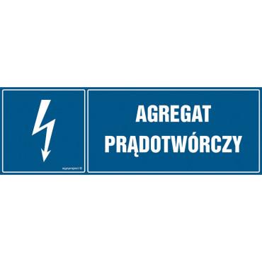 Znak - Agregat prądotwórczy HH037