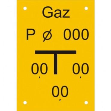 Znak - Tablica punktu pomiarowego JC006