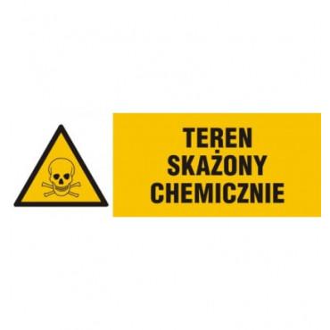 Znak - Teren skażony chemicznie NA002