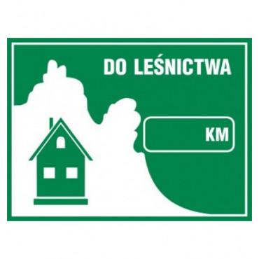 Znak - Do leśnictwa OB001