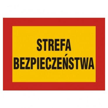 Znak - Strefa bezpieczeństwa JE006